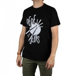 Pepe Jeans Camiseta Blackford Black Negro Hombre