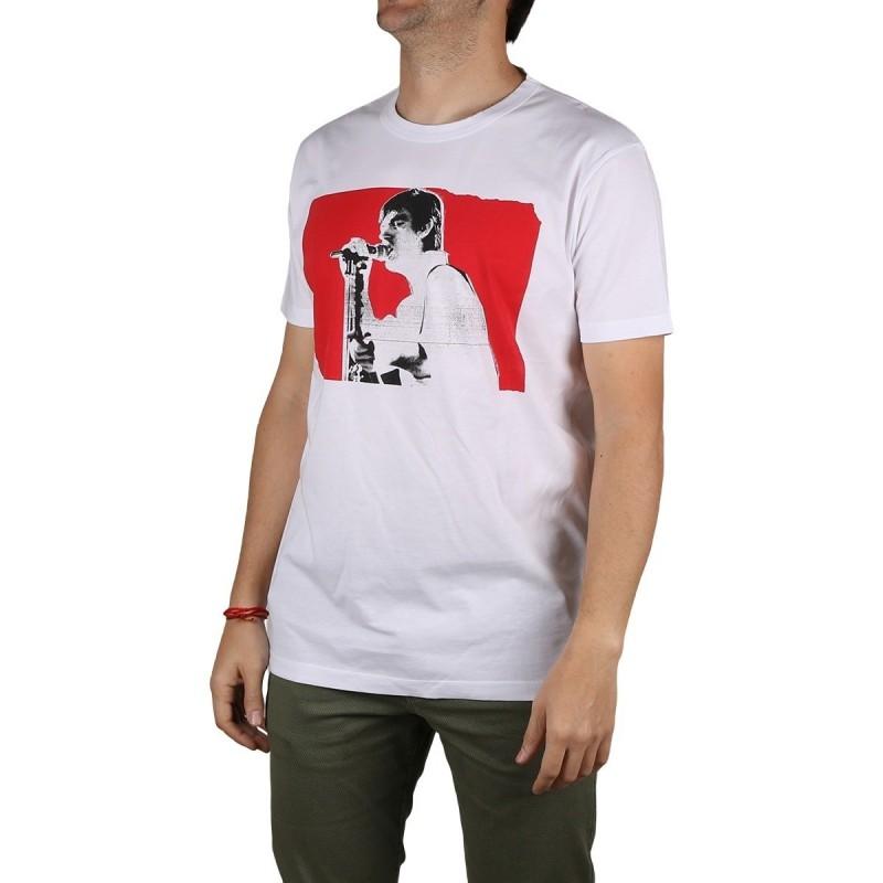 Pepe Jeans Camiseta Gillian Optic White Blanco Hombre