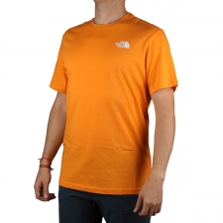 The North Face Camiseta Redbox Flame Orange Hombre