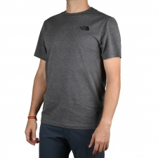 The North Face Camiseta Redbox Medium Grey Hombre
