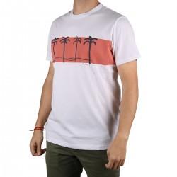 Pepe Jeans Camiseta Jools Off White Blanco Salmon Hombre