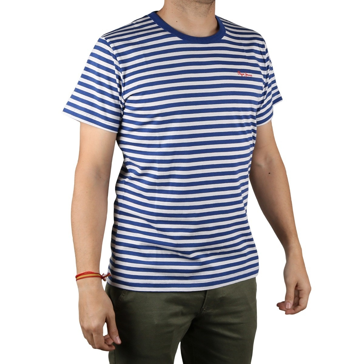 Pepe Jeans Camiseta Mitch Blue Hombre