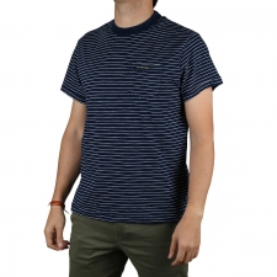 Pepe Jeans Camiseta Gibbon Indigo Rayas Marineras Azul Hombre