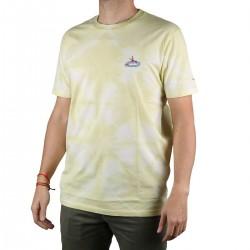 Pepe Jeans Camiseta Jaremiah Yoke Amarillo Hombre