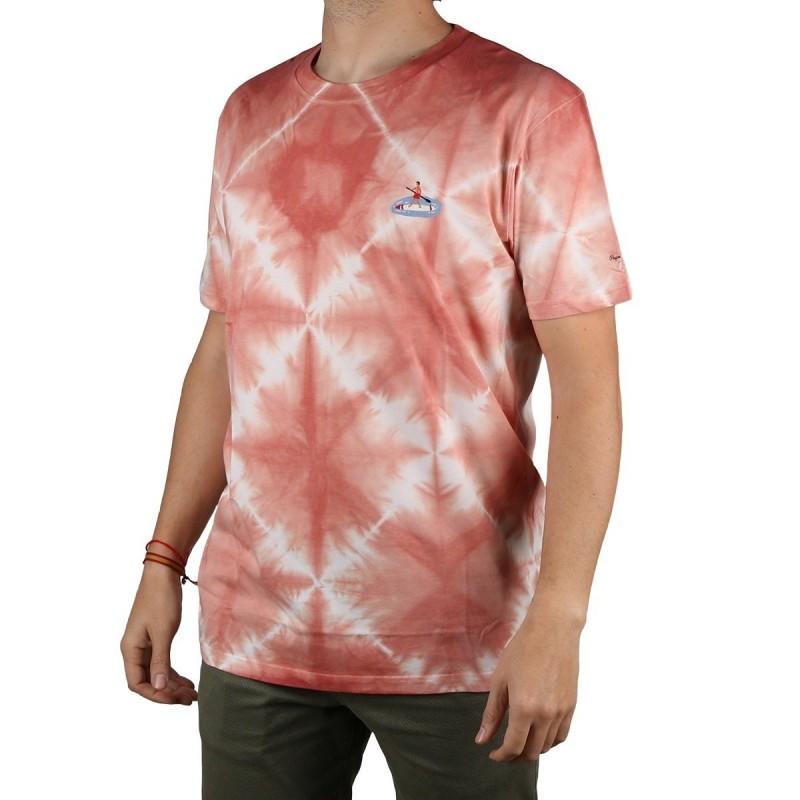 Pepe Jeans Camiseta Jaremiah Sundown Naranja Hombre