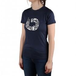 Pepe Jeans Camiseta Cadee Old Navy Azul Marino Mujer