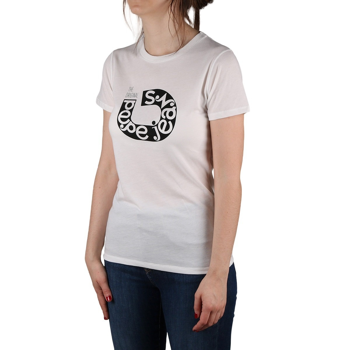 Pepe Jeans Camiseta Cadee Mousse Blanco Mujer