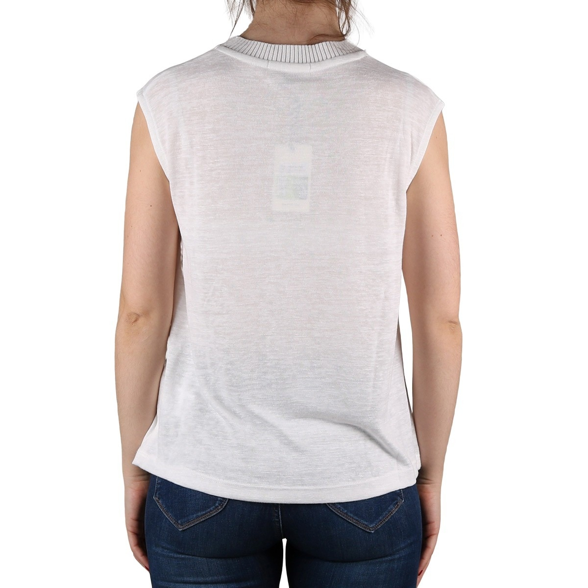 Pepe Jeans Camiseta Carly Optic White Blanco Mujer