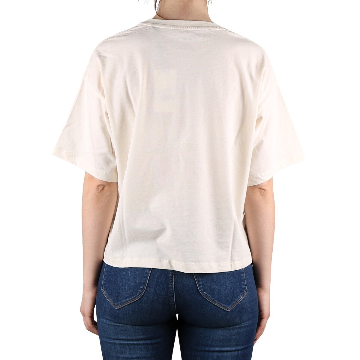 Pepe Jeans Camiseta Paola Champagne Blanco Roto Mujer