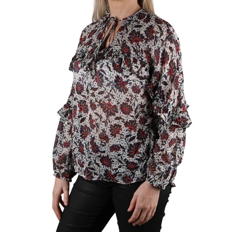 Pepe Jeans Blusa Julia Multi Estampado floral Mujer