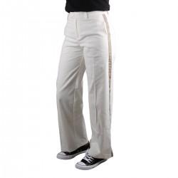 Pepe Jeans Pantalón de vestir Zaida Mousse Blanco Mujer