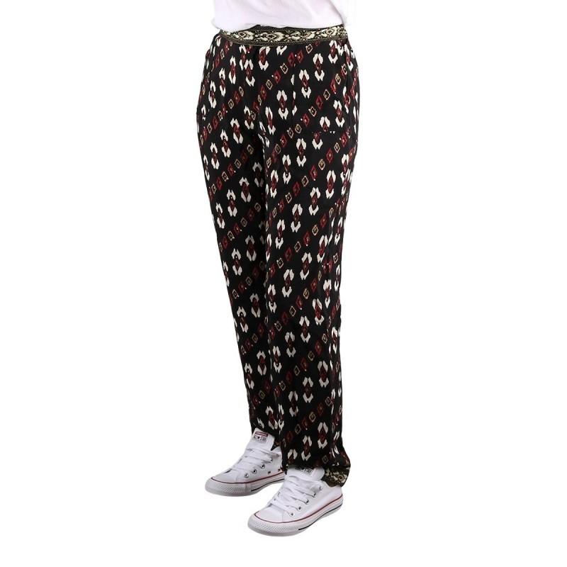 Pepe Jeans Pantalón Recto Kelly Multi Estampado Ikat Mujer