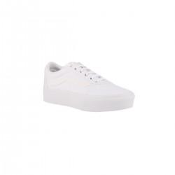Vans WARD PLATFORM White Blanca Banda Blanca Mujer