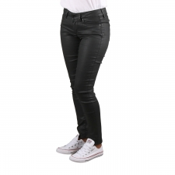 Pepe Jeans Pantalón Vaquero Encerado Pixie Black Negro Mujer