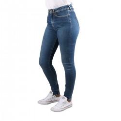 Pepe Jeans Pantalón Vaquero Cher High Skinny Denim Azul Mujer