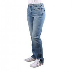 Pepe Jeans Pantalón Vaquero Retro Mary Straight Denim Azul Mujer