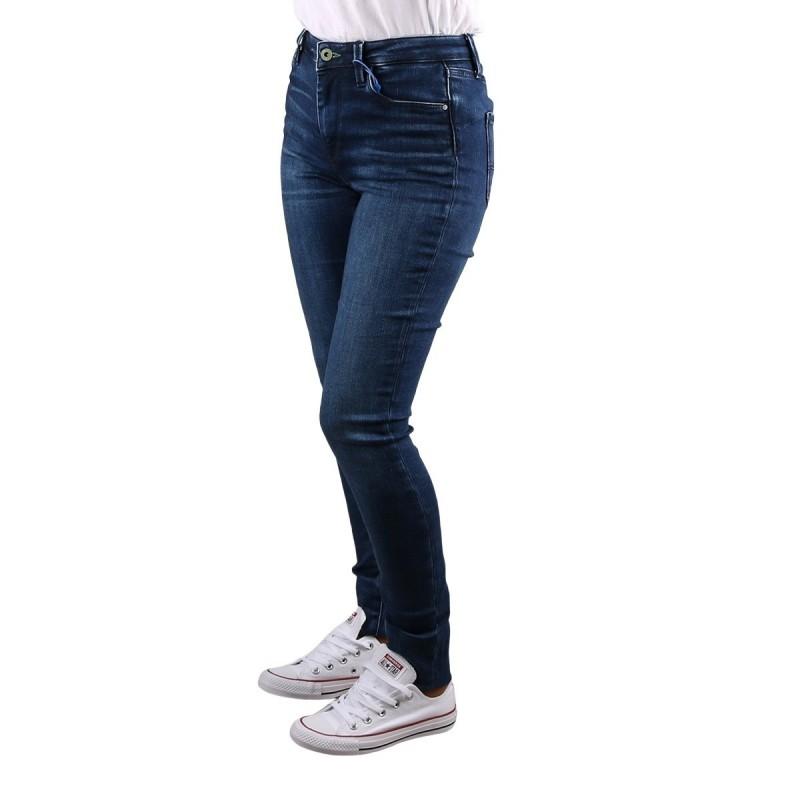 Pepe Jeans Pantalón Vaquero Skinny Regent Denim Azul Medio Mujer