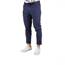 Pepe Jeans Pantalón Cargo Tapered Keys Expedit Old Navy Azul Hombre