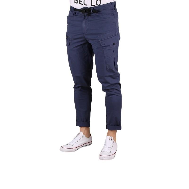 Pepe Jeans Pantalon Cargo Tapered Keys Expedit Old Navy Azul Hombre
