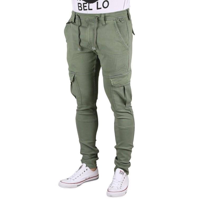 Pepe Jeans Pantalón Jones Casting Verde Hombre