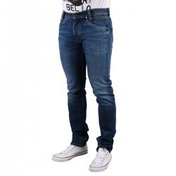 Pepe Jeans Pantalón vaquero Spike Denim Dark Used Azul Oscuro Hombre