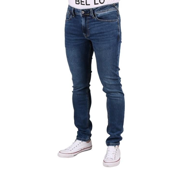 Pepe Jeans Pantalón vaquero Finsbury Skinny Denim Vintage Medium Used Azul Medio Hombre