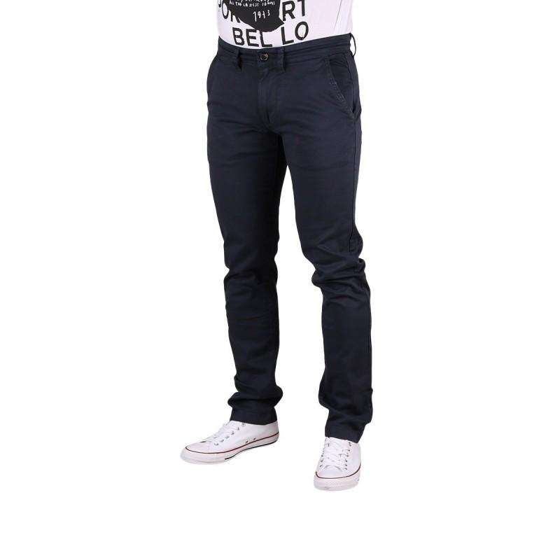 Pepe Jeans Pantalon Chino Sloane Chatman Blue Azul Marino Hombre