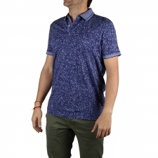 Pepe Jeans Polo Leland Union Blue Azul Tropical Hombre