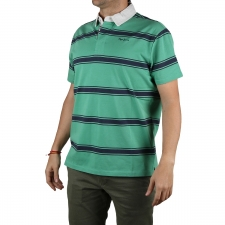 Pepe Jeans Polo Logan Middle Green Rayas Verde Azul Hombre