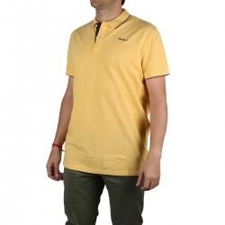 Pepe Jeans Polo Lucas Golden Amarillo Piqué Hombre