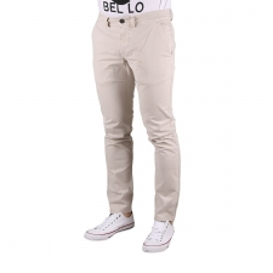 Pepe Jeans Pantalón Chino Blackburn Satin Platinium Beige Hombre