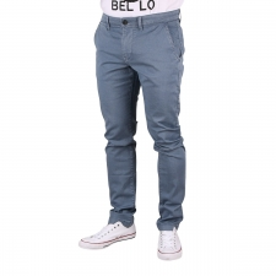 Pepe Jeans Pantalón Chino Charly Minimal Weller Azul Estampado Hombre