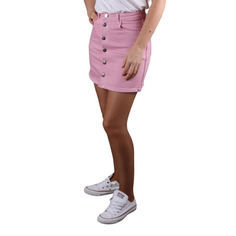 Pepe Jeans Falda Mini Dua Lipa Trickie Chewing Rosa Mujer
