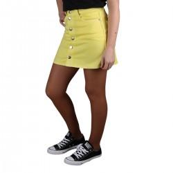 Pepe Jeans Falda Mini Dua Lipa Trickie Twist Amarillo Mujer