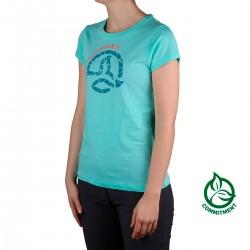Ternua Camiseta Luzon Fresh Duck Blue Azul Mujer