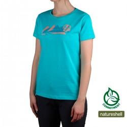 Ternua Camiseta Mactan Blue Curacao Azul Mujer
