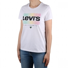 Levis Camiseta The Perfect Tee Neutral Sportwear Logo White+ Blanco Mujer