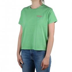 Levis camiseta Graphic Varsity Tee Green Verde Mujer