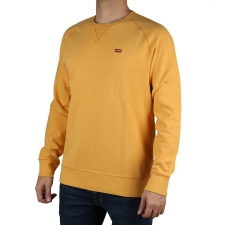 Levis Sudadera Original Housemark Icon Crew Brown Golden Apricot Naranja Hombre