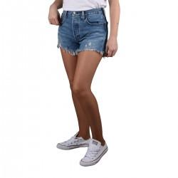 Levis Pantalón Corto 501™ Original Short Indigo Athenas Mid Short Azul Medio Mujer