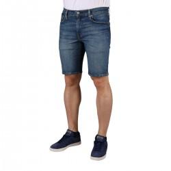 Levis Bermuda 502 Taper Shorts Blue Azul Medio Hombre