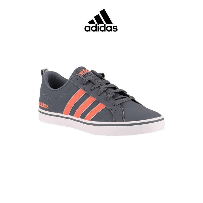 Adidas zapatilla Vs Pace Onix Gris Naranja Hombre