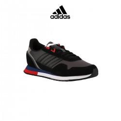 Adidas zapatilla 8K Grey Black Gris Rojo Hombre