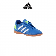 Adidas zapatilla Top Sala Blue/White Niño
