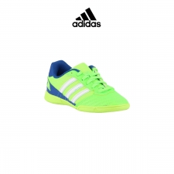 Adidas zapatilla Super Sala Green/White Niño