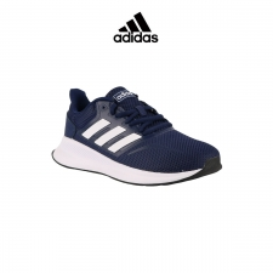 Adidas zapatilla Runfalcon K Blue/White Niño