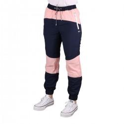 Tommy Hilfiger Pantalón Jogger Color Block Pink Icing Rosa Azul Mujer