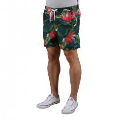 Tommy Hilfiger Bañador Flores Tropicales Vintage Tropic Green Multicolor Hombre