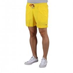 Tommy Hilfiger Bañador con cordón a contraste Bold Yellow Amarillo Hombre