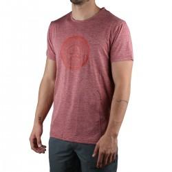 Ternua camiseta SULU Burgundy Rojo Granate Hombre